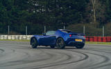 23 Lotus Elise Sport 240 Final Edition 2021 UK first drive review slide rear