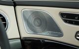 Mercedes-Benz S-Class S500L 2018 long-term review - speakers