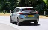 Nissan Leaf 2nd generation (2018) long-term review on the road rear