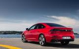 Peugeot 508 2018 review static rear