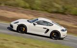 Porsche 718 Cayman GTS 2018 UK review side left