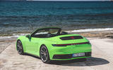 Porsche 911 Cabriolet 2019 first drive review - static rear