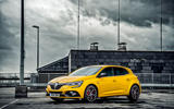 Renault Megane RS 300 Trophy 2019 UK first drive review - static front