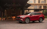 Toyota Highlander Hybrid 2020 first drive review - static front