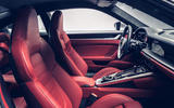 Porsche 911 Turbo S 2020 official images - interior