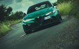 24 Alfa Romeo GTAm 2021 UK LHD fd on road nose