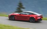 Aston Martin DBS Superleggera 2018 first drive review road driving side
