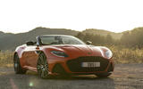Aston Martin DBS Superleggera Volante 2019 first drive review - static front
