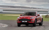 Aston Martin DBX 2020 UK first drive review - track front