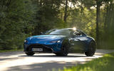 Aston Martin Vantage manual 2019 first drive review - static front