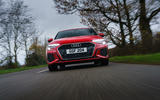 Audi A3 TFSIe 2020 UK first drive review - on the road nose