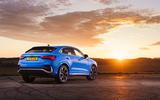 Audi Q3 Sportback 2019 UK first drive review - static rear