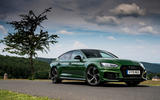 Audi RS5 Sportback 2019 first drive review - static front