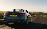 Audi TT Roadster 2019 UK first drive review - on the road rear