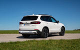 BMW X5 xDrive 45e 2019 first drive review - static rear