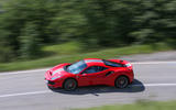 Ferrari 488 Pista 2018 review on the road left