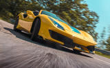 Ferrari 488 Pista Spider 2019 first drive review - on the road low