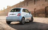 Fiat 500 Hybrid 2020 first drive review - static rear
