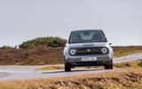 Honda e 2020 UK first drive review - cornering rear