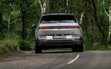 24 Hyundai Ioniq 5 2021 FD Norway plates cornering rear