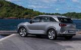 Hyundai Nexo 2019 first drive review static rear