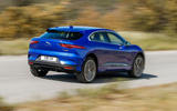 Jaguar I-Pace 2018 review on the road rear