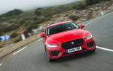 Jaguar XE P300 2019 first drive review - on the road nose
