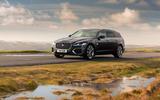 24 Jaguar XF Sportbrake 2021 UK first drive review static