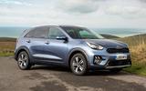 Kia Niro PHEV 2020 UK first drive review - static
