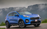 Kia Sportage GT-Line S 48V 2018 first drive review static hero front