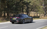 Kia Stinger 2.2 CRDi 2018 UK review cornering rear