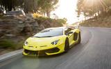 Lamborghini Aventador SVJ 2018 first drive review hero road