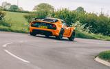 24 Lotus Exige final edition 2021 UK FD cornering rear
