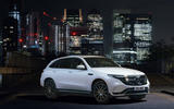 Mercedes-Benz EQC 400 2019 UK first drive review - static front