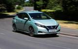 Nissan Leaf 2nd generation (2018) long-term review cornering