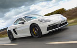 Porsche 718 Cayman GTS 2018 UK review on the road