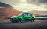 Porsche Macan 2019 first drive review - static front