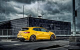 Renault Megane RS 300 Trophy 2019 UK first drive review - static rear