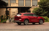 Toyota Highlander Hybrid 2020 first drive review - static rear