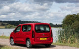 Vauxhall Combo Life 2018 UK first drive review static rear