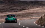 25 Alfa Romeo Giulia GTAm 2021 FD cornering rear