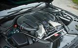 Alpina B5 BiTurbo saloon engine