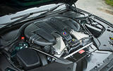 Alpina B5 BiTurbo saloon engine