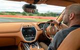 Aston Martin DBX 2020 UK first drive review - Matt Prior driving