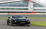 25 Aston Martin Victor 2021 track cornering