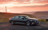 Audi A8 60 TFSIe 2020 UK first drive review - static