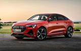 Audi E-tron S Sportback 2020 first drive review - static