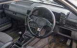 Audi Quattro - interior