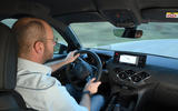 DS 3 Crossback 2019 first drive review - Matt Prior driving