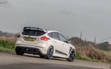 Ford Focus RS Mountune M520 2020 UK first drive review - on the road rear